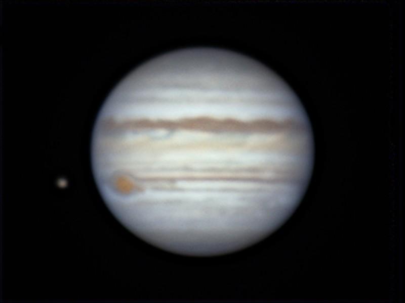 木星とイオ (2019/5/25 00:15)