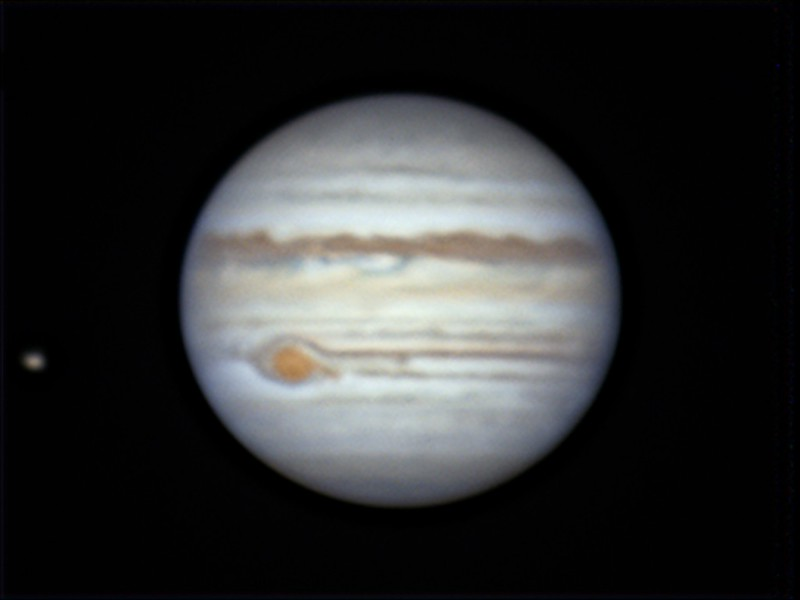 木星とイオ (2019/5/25 00:44)