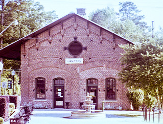 Hampton Depot on 110 Film