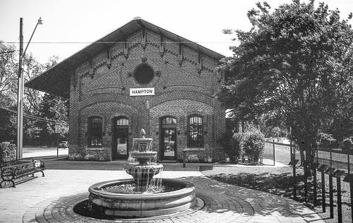 Hampton Depot on  35mm Ortho Film