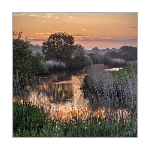 arun sussex houghton river sunset