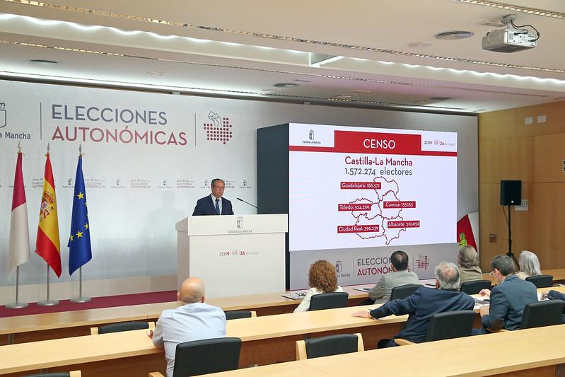 Presentación dispositivo Elecciones a Cortes de Castilla-La Mancha