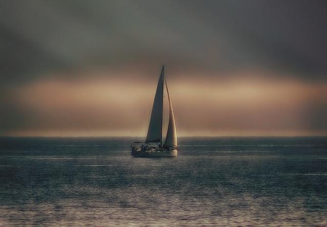 Navegando por la fantasía.