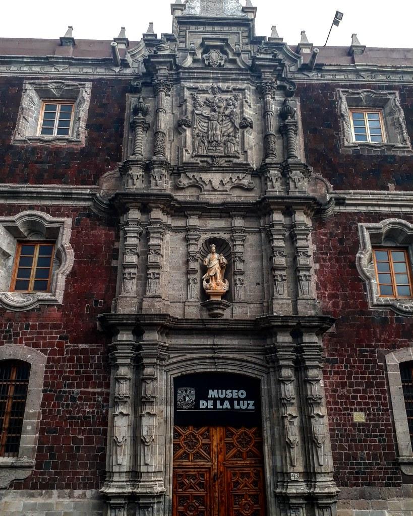 Portada Del Antiguo Colegio De San Ildefonso Centro Histo Flickr