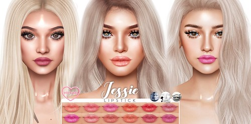 Jessie Lipsticks Updated