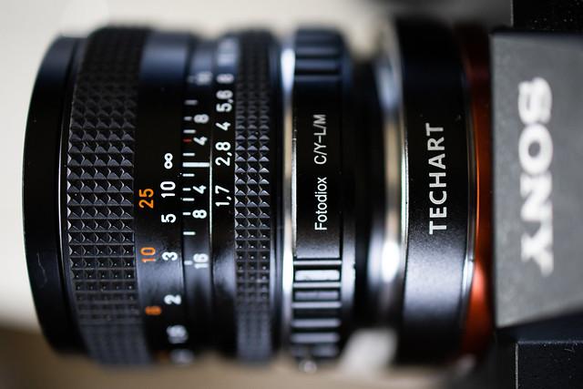 Contax Planar 50mm f/1.7
