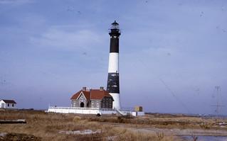 Fire Island Lighthouse .  Fire  Island NY