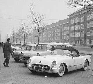 1955 Chevrolet Corvette & DKW Junior 1960