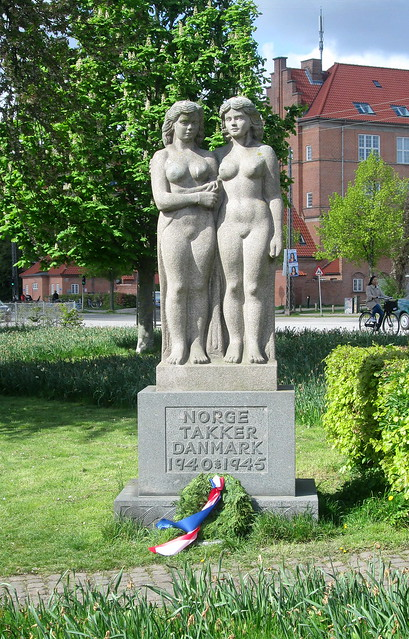 Norway Thanks Denmark Memorial, Copenhagen