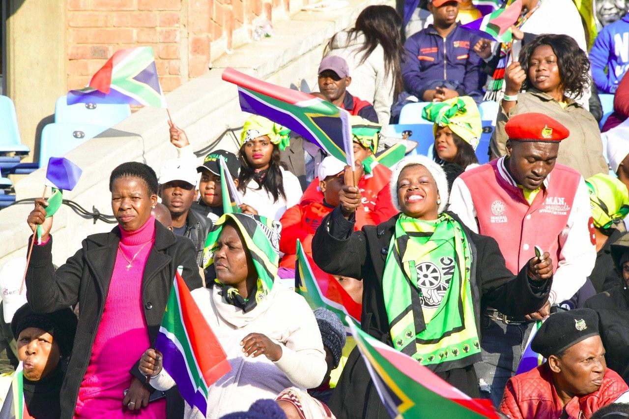 Vicepresidente sectorial Aristóbulo Istúriz participa en la toma de posesión del presidente de Sudáfrica Cyril Ramaphosa