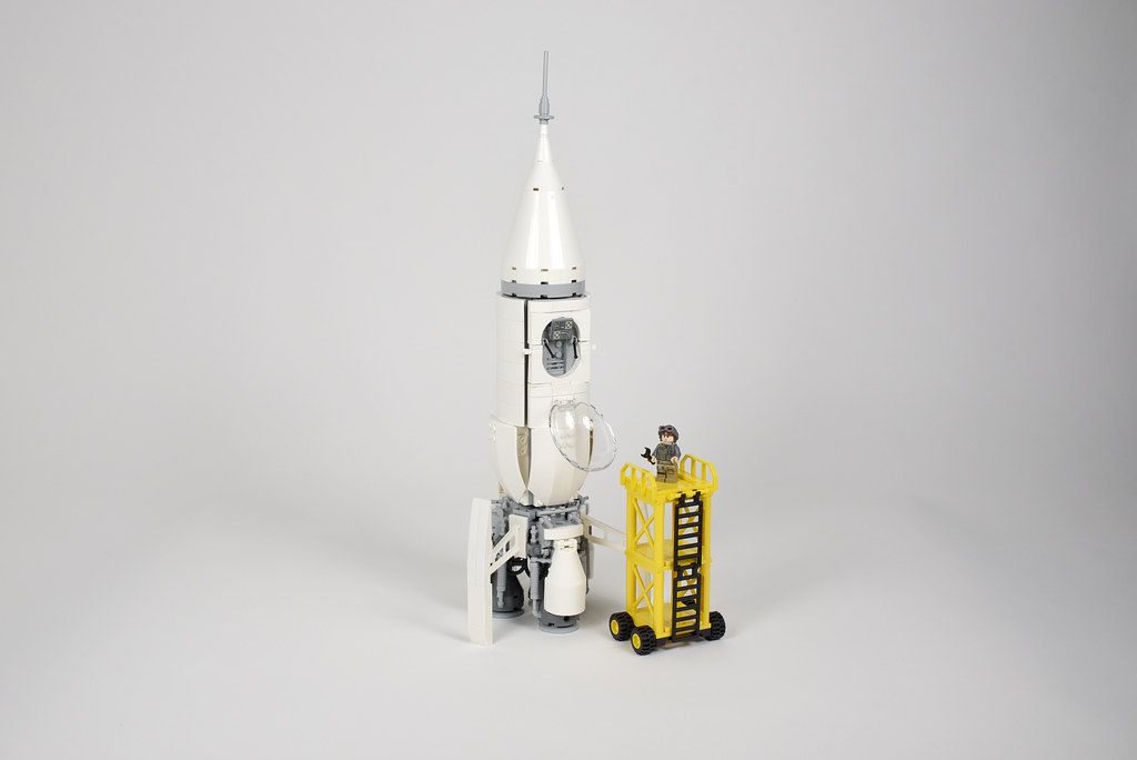Lego space rocket shed - atana studio