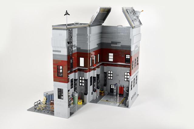 Lego space rocket shed - atana studio