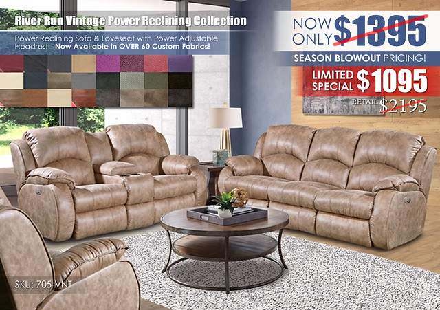 River Run Vintage Power Reclining Set_Special_705_ClearanceUpdate
