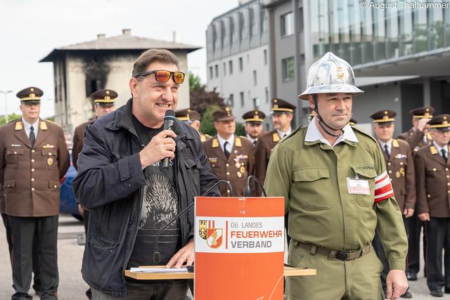 Feuerwehr läuft Preisverleihung am 24.05.2019 in Linz