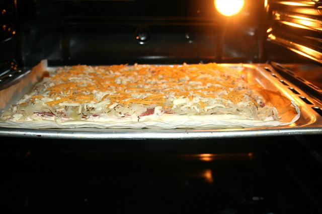 12 - Weiter im Ofen backen / Continue bake in oven
