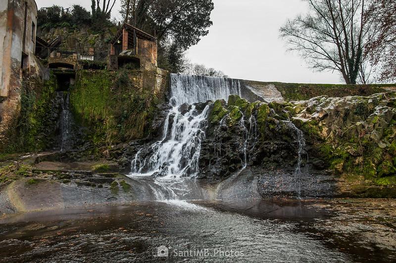 Cascada del Molí Fondo en Sant Joan les Fonts