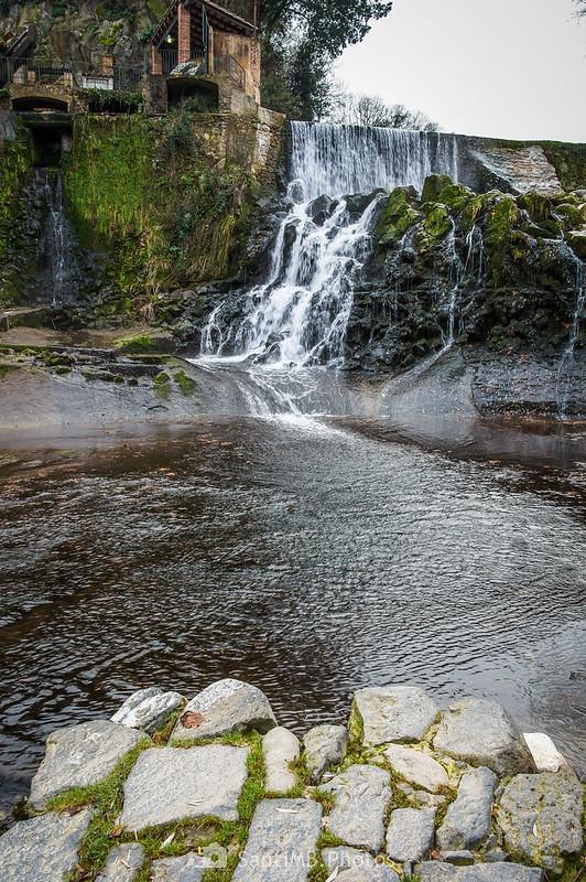 Cascada del Molí Fondo de Sant Joan les Fonts