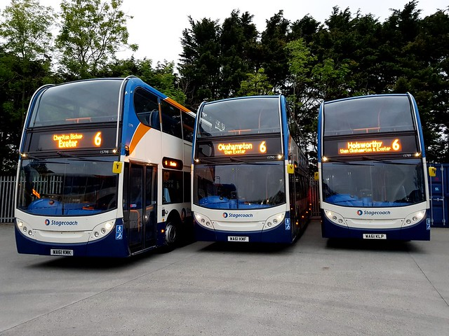 Service 6 line-up Bude May 2019