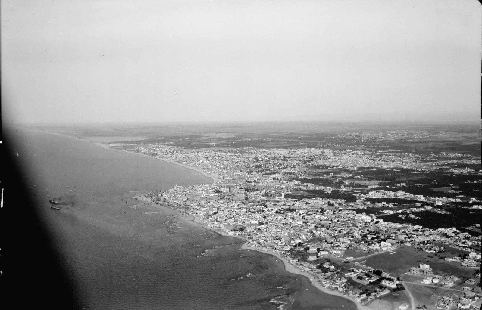 40. Яффо. Береговая линия Яффо-Тель-Авив.