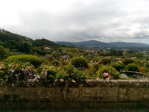 Outside our room in Paço de Calheiros