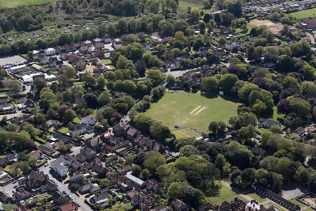 Overstrand - Norfolk UK aerial