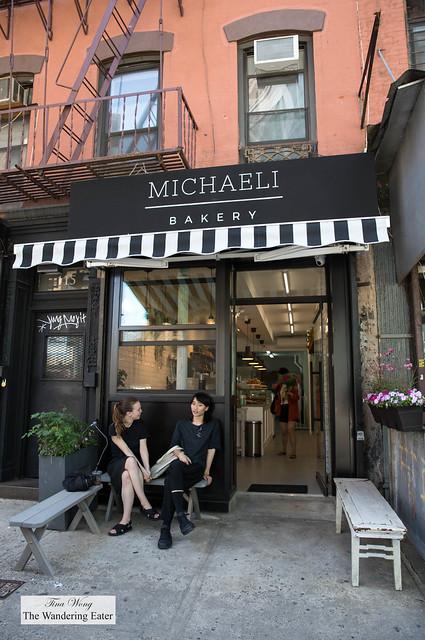 Mihcaeli Bakery exterior