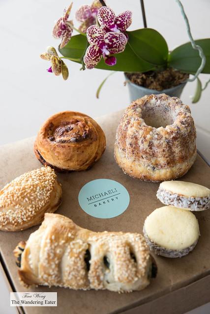 Michaeli Bakery's baked goods