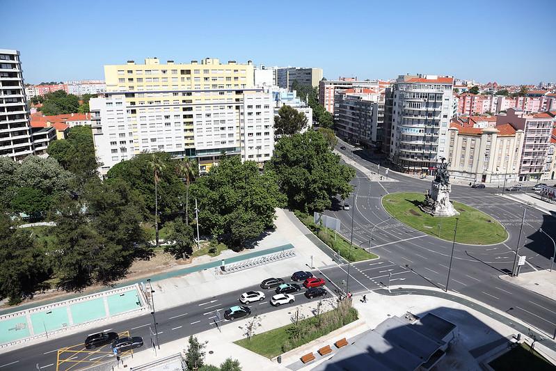 Hotel NH Lisboa Campo Grande view