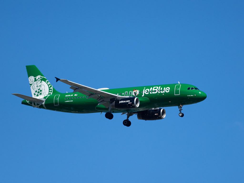 Boston Celtics JetBlue
