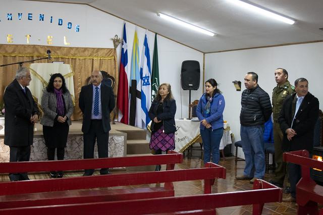 Visita Iglesia Mantos del Río, Talca