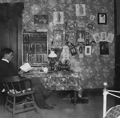 Herman Allison at Baylor College 1904