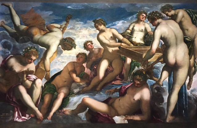 Tintoretto painting at The National Gallery in Washington D.C.