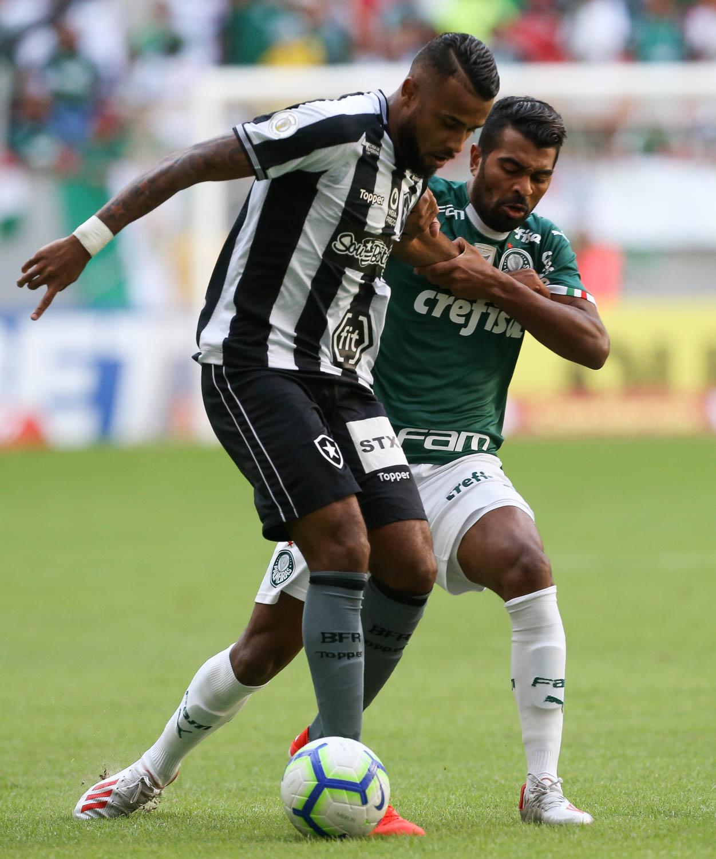 Botafogo perdeu para o Palmeiras no brasileirão e decepciona no cartola