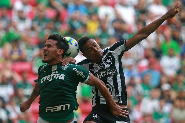 Botafogo 0 x 1 Palmeiras - 25/05/2019