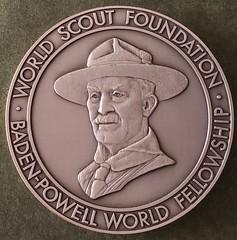 World Scout Foundation Baden-Powell World Fellowship medal