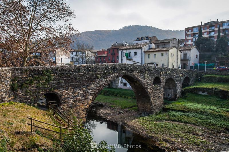 Puente medieval de Sant Joan les Fonts