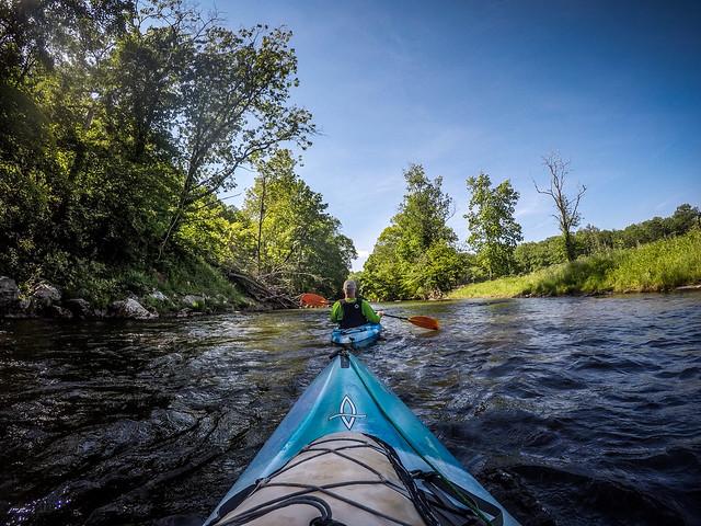 Paddling the North Toe River-19