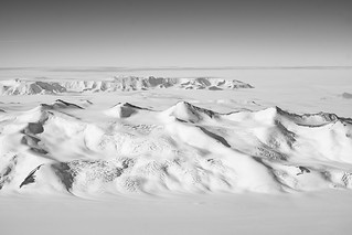 Ice Covered Rocks in the Transantarctic Mountains