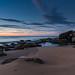 Coastal Dawn Panorma Seascape