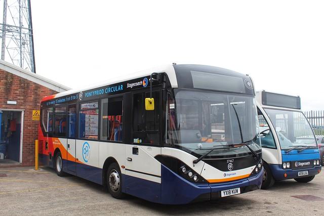 Stagecoach 37467 / YX18 KUW
