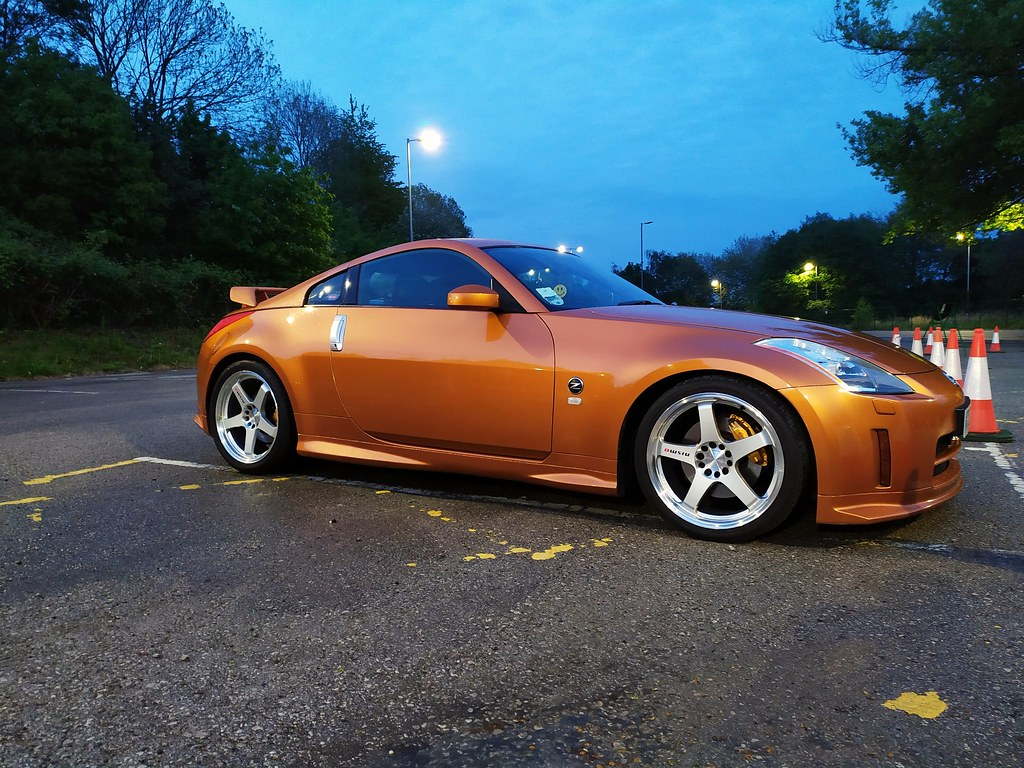 Sunset orange 350z