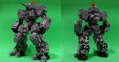 Kaiserian Grunt Tankhead (Chubbs custom}