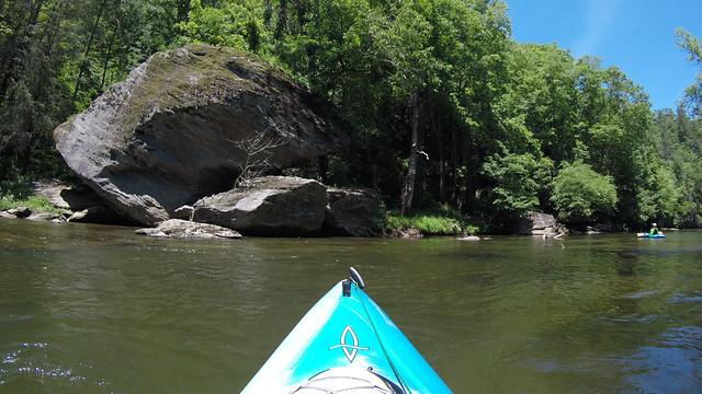 Paddling the North Toe River-150