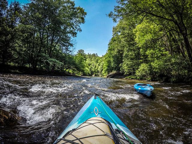 Paddling the North Toe River-110