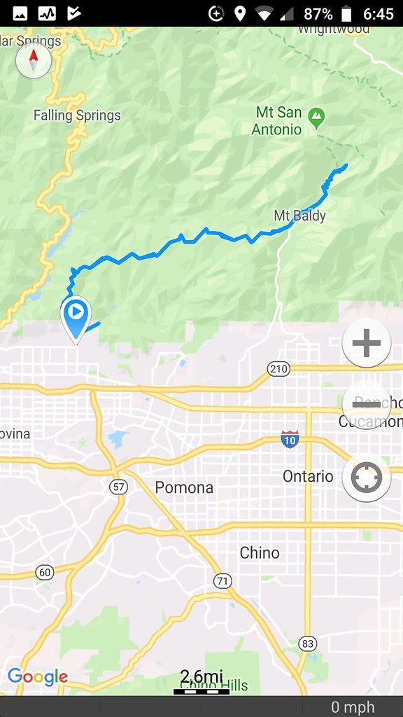 Mt Baldy Group Ride