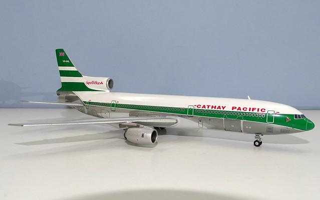 Cathay Pacific Lockhed L-1011-385-1 Tristar
