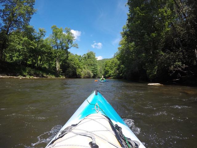 Paddling the North Toe River-46