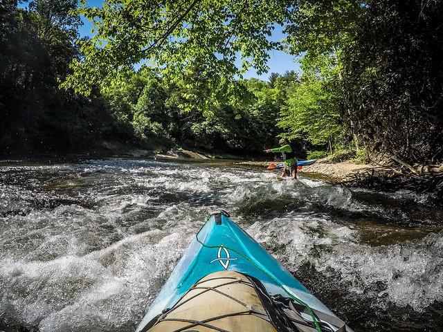 Paddling the North Toe River-32