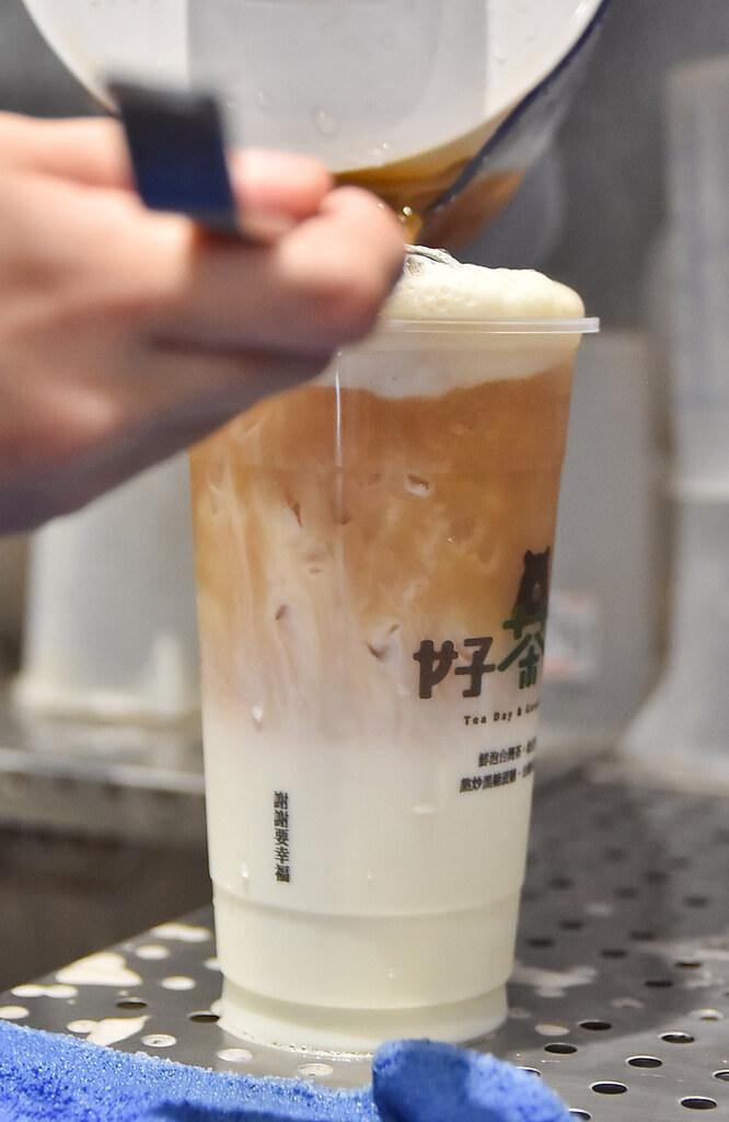 台中綠豆沙 芋頭沙 好茶日 黑糖珍珠奶茶15