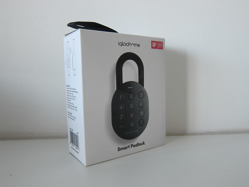 igloohome Smart Padlock - Box